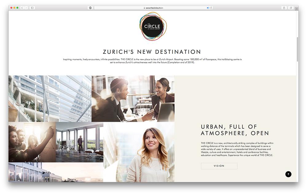 Work - The Circle at Airport Zurich | Krisdigital